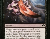 Touch of Moonglove, Limited Edition Magic The Gathering Artist Proof Card, By Scott Murphy
