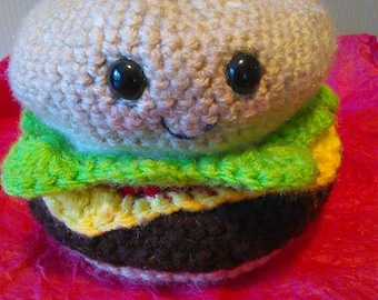 Cheesin' Cheeseburger Kawaii