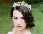 Bridal Tiara Crystal Tiara -CHANTAL, Swarovski Bridal Tiara, Crystal Wedding Crown, Rhinestone Tiara, Wedding Tiara, Diamante Crown