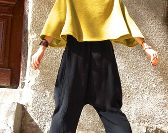 NEW Autumn / Winter  Wool Limited Edition Mustard  Bolero / Extravagant Jacket / Wool Blend Coat  by Aakasha A08505