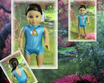 American Girl Doll Leotard/Swim Suit -- Swimming with Nemo