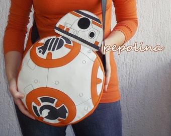 BB-8 Droid Star Wars shoulder bag