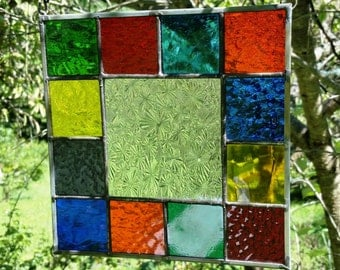 Stained Glass Panel E 98