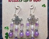 Wisdom earrings