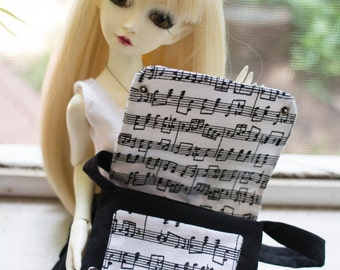 Music Note Messenger Bag (Minifee/MSD Slim)