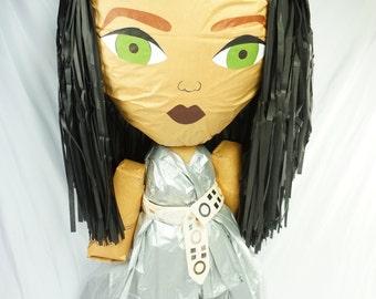 Puppet Pinata Inspired By Rihanna | Rihanna 2016 Emmy Awards Version | Celebrity Pinata | Beautiful Women Of Our World Pinata
