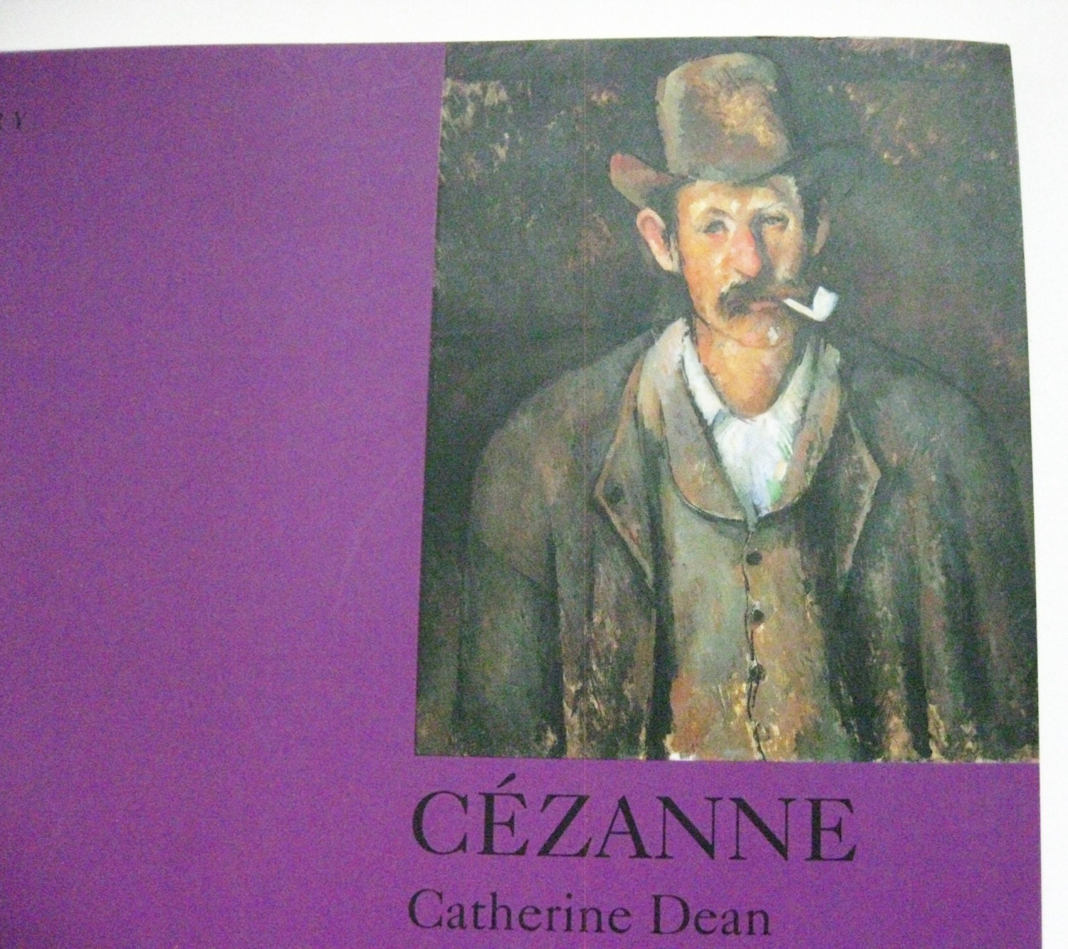 Art Book Cezanne By Catherine Dean Vintage Coffee Table Book