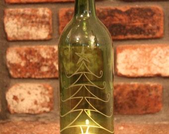 Lantern Christmas Tree - (Stand & Candle Included), Green,  Holiday Decor, Holiday Lights, Christmas Decor
