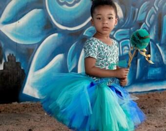 Blues Tutu - Seaside Princess Tutu - Blue Tutu - Blue Toddler Tutu - Blue Baby Tutu - Blue Adult Tutu