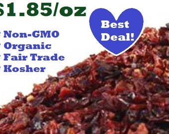 Organic ROSEHIPS - 1 oz - Rosa spp. Dried Herb Ounce