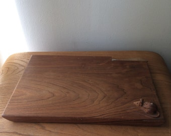 Large B.A. Oxley Mouse Wood Cheese Board
