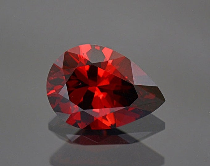 Rich Red Orange Umbalite Garnet Gemstone from Tanzania 5.25 cts.