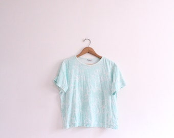 Pastel Paisley 90s Wide Tee