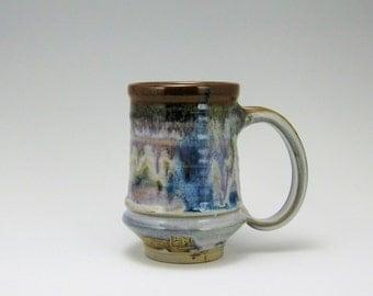 Stonware Mug Calico Glaze 16oz