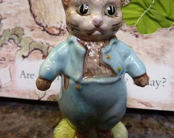 Beatrix Potter Tom Kitten Figurine BP-3a Beswick England 1948