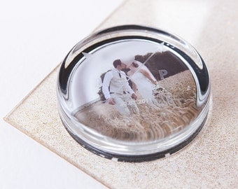 Personalised Engraved Arrow Paperweight - Office Accessory - Desk Organiser - Executive - Gift for Couples - Wedding Gift - Vintage Look