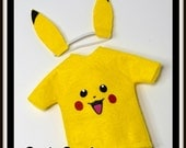ELF Pikachu Costume - Elf Accessories  Elf Costume - Christmas Elf- Elf Prop - Pokemon