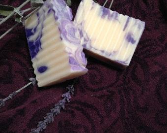Lavender Rosemary Essential Oil Soap