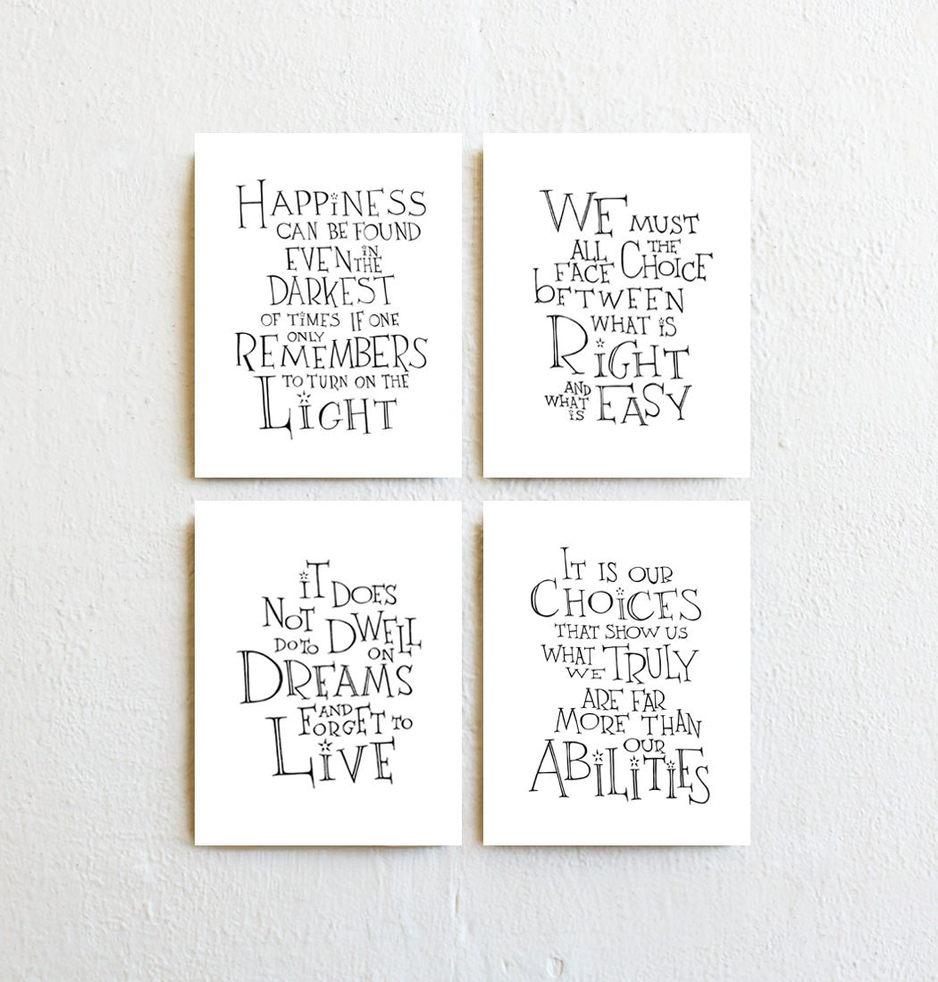 it is our choices dumbledore quote