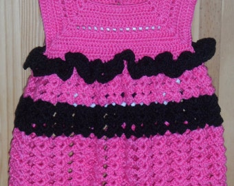 Crocheted Pink Sundress