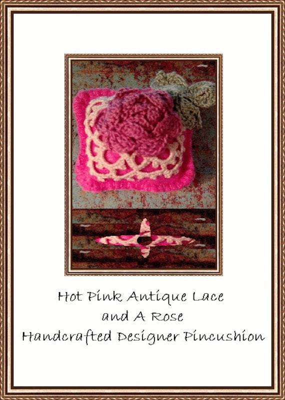 Hot Pink Designer Pincushion