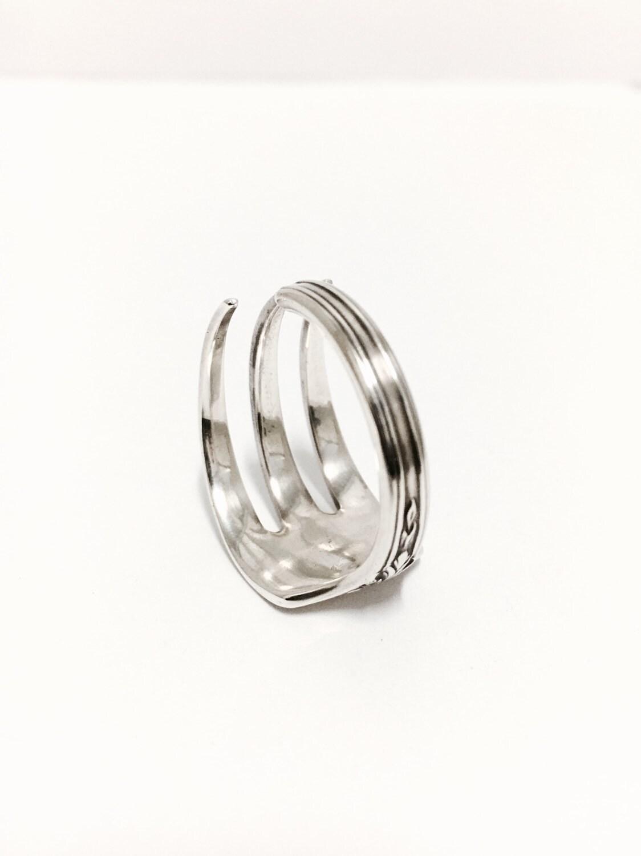 sterling silver fork ring silverware jewelry fork jewelry