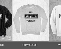 Clifford 1995 i do what i want i'm punk rock t-shirt,  unisex