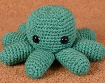 Octopus Crochet Toy Doll