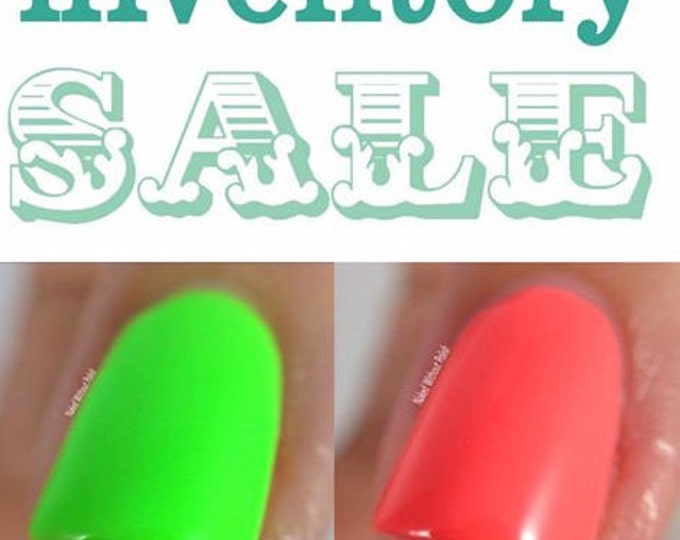 The neon festival trio - free shipping Mini 7 ml bottle