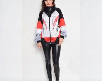 Vintage 90's Color Block Sports Jacket