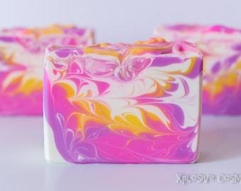 Passion Handmade Soap - Bar Soap, Coconut Milk Soap, Cold Process Soap, Vegan Soap, Soaps, Shea Butter, Homemade Soap