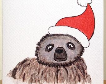 Albert's Christmas Hat!