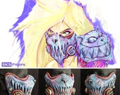 Wasteland Alice in Wonderland Cosplay Cheshire Cat Inspired Gas Mask