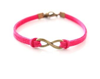 Infinity bracelet arm party customize jewelry
