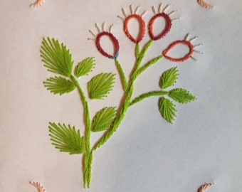 Spring time Embroidery Cards