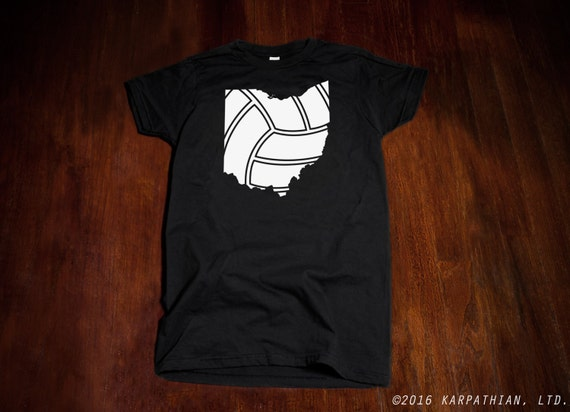 Ohio Volleyball Mens or Ladies jr fit tee