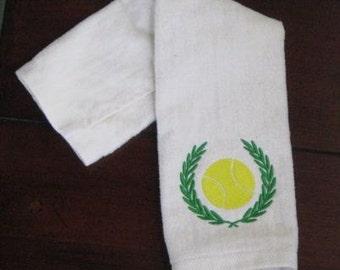 Custom Embroidered Tennis Towel Sports Towel Tennis Towel