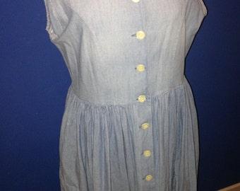 Long vintage Manoukian t42 dress