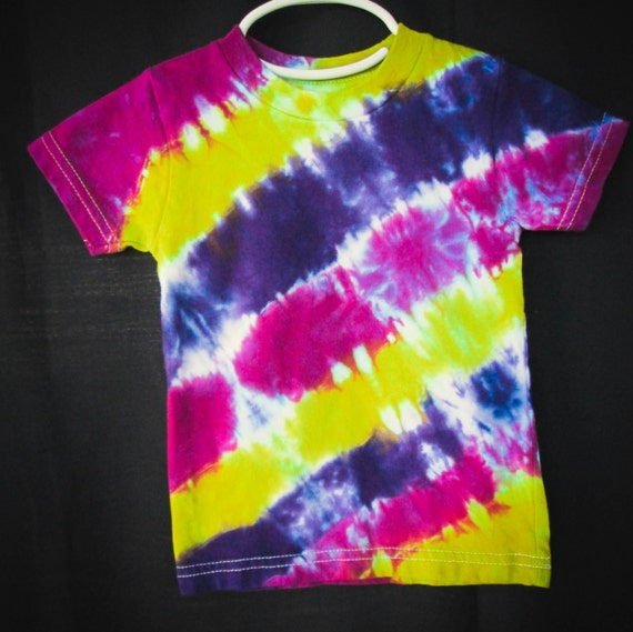 Hand Dyed Youth Tie Dye Shirt