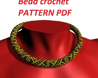 Pattern for necklace pattern for jewelry diy jewelry bracelet pattern beaded tutorial beading instructions beadwoven jewelry beadwork patter