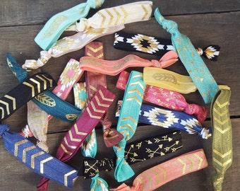 Bulk Hair Ties, Hair Tie Grab Bag, Hair Tie Grab Bagss, Hair Ties, Elastic Hair Ties, Easter Gifts, Easter Basket Gifts, Birthday Gifts