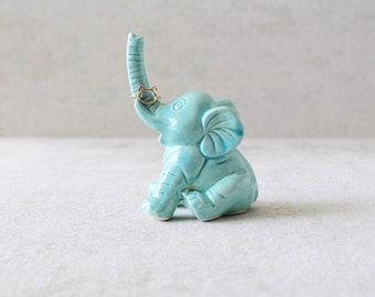 Elephant Ring Holder - Lucky Elephant Ring Holder - Elephant Decor