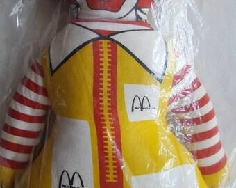 13 Inch Vintage Ronald McDonald Doll