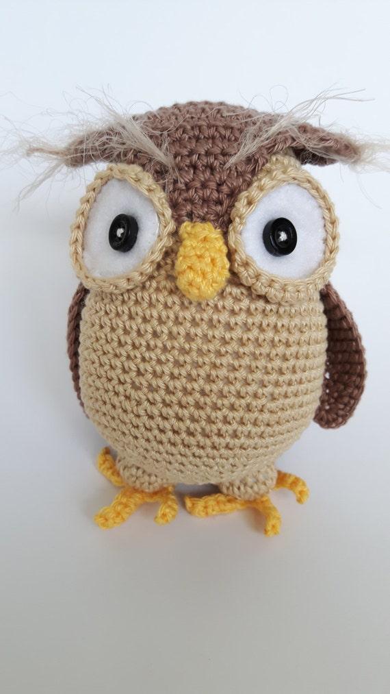 Owl Henriette Amigurumi Owl Crochet Owl Owl Soft Toy based