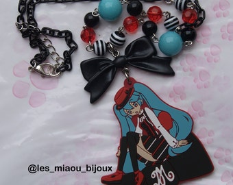 Hatsune Miku Vocaloid Kawaii necklace