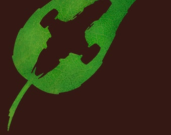 Firefly t-shirt Serenity Leaf on the Wind Shiny Browncoat t-shirt