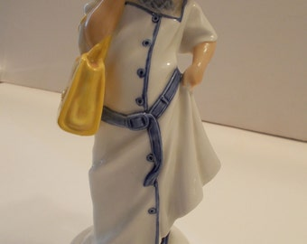 Royal Doulton Childhood Days Dressing Up Figurine