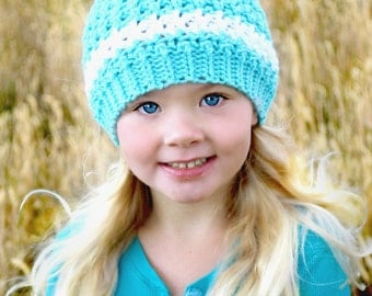 Anna Marie Winter Hat, Choose your own colors, Baby, Toddler, Kids and Adults, Kids Winter Beanie, Hat and Mittens Set, Toddler Hat