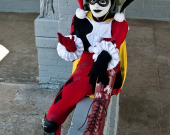 DCUO Harley Quinn Cosplay Print - 11x17