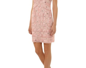 Naomi dress in soft pink.